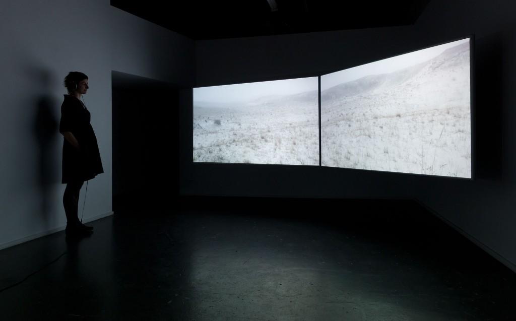 Sand/fog, installation, Lynette Smith, KINGS, audio